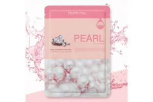 FarmStay Visible Difference Mask Sheet Pearl маска тканевая с экстрактом жемчуга