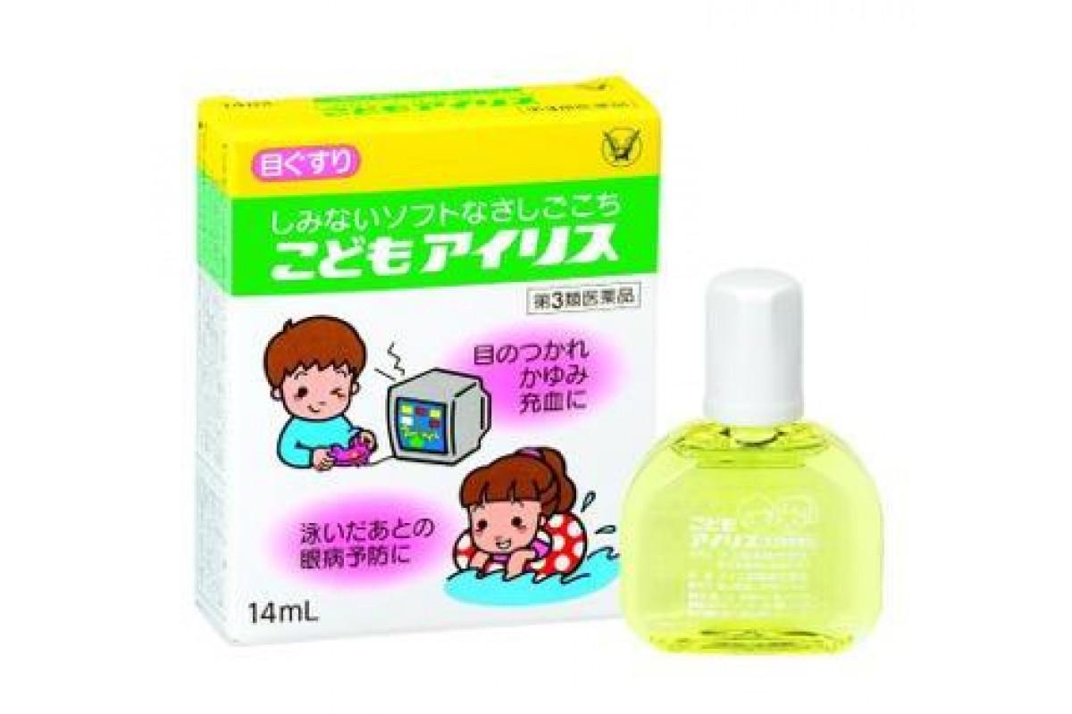 Taisho Kodomo Iris японские глазные капли для детей
