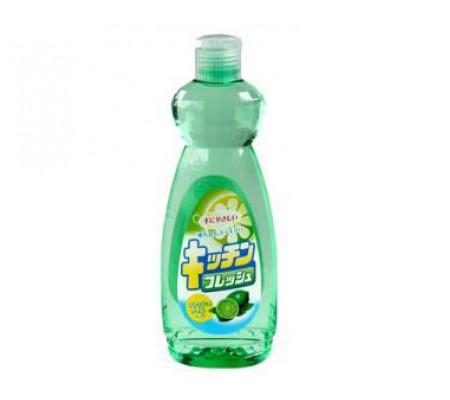 """Средство для мытья посуды """"Mitsuei"""" с ароматом лайма (600 мл, Япония)"""