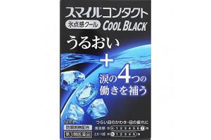 Lion Smile Contact Black Cool японские капли для контактных линз (индекс свежести 7)