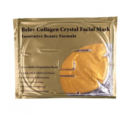Belov Collagen Crystal Facial Mask Золотая коллагеновая маска для лица