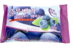 Juno Blueberry Peeling Soap отшелушивающее мыло с экстрактом черники (150гр)