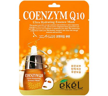 Ekel Coenzym Q10 Ultra Hydrating Mask тканевая маска с коэнзимом Q10