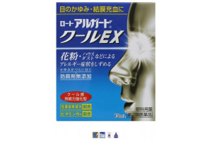 Rohto Arugado Cool EX японские глазные капли (против аллергии)