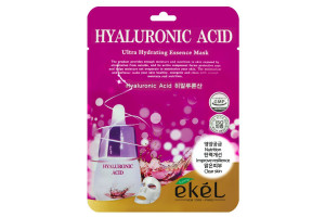 Ekel Hyaluronic Acid Ultra Hydrating Essence тканевая маска с гиалуроновой кислотой