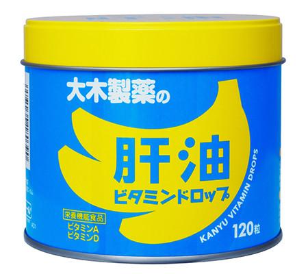 ВИТАМИНИЗИРОВАННЫЙ РЫБИЙ ЖИР ДЛЯ ДЕТЕЙ со вкусом банана (120 шт)