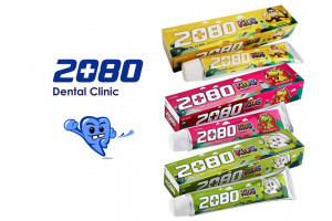 Dental Clinic 2080 KIDS Toothpaste детская зубная паста (80 гр, Южная Корея)
