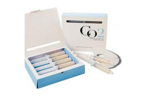 Esthetic House CO2 Esthetic Formula Carbonic Mask  набор для 5 процедур карбокситерапии (упаковка 5 масок+ 5 шприцов)