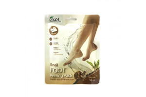 Ekel Snail Foot Peeling Pack Пилинг носочки для стоп с муцином улитки (пара)