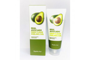 Farm Stay Real Deep Clear Peeling Gel Avocado пилинг-гель с экстрактом авокадо