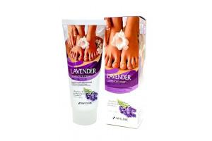 3W Clinic Lovely Foot Cream крем для ног с экстрактом лаванды