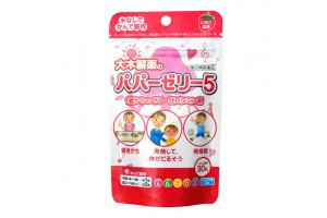 Детские витамины с клубничным желе PAPA JELLY (30 шт, Япония)