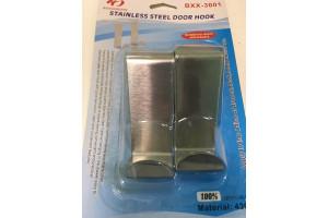 Stainless Steel Door Hook крючки навесные на дверь ( 2шт)