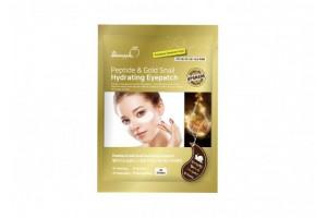 SkinApple Peptide&Gold Snail Hydrating Eye Patch антивозрастные патчи с золотом и пептидами