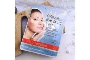 Purederm Collagen Eye Zone Mask тканевые патчи под глаза на основе фито-коллагена (30 шт)