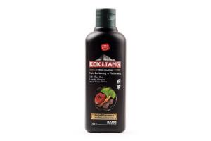 KOKLIANG Herbal Shampoo восстанавливающий безсульфатный шампунь для тёмных волос (200 мл)