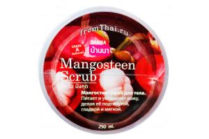 Banna Mangosteen Scrub скраб для тела с Мангостином (250 мл, Тайланд)