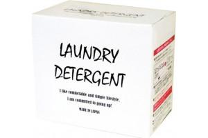 MITSUEI Power Laundry мощный стиральный порошок с усиленной формулой ферментов, дезодорирующими компонентами и отбеливателем (коробка 900 гр)