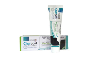 Зубная паста Nano Charcoal Dental с серебром и бамбуковым углем «HANIL» (180 гр)