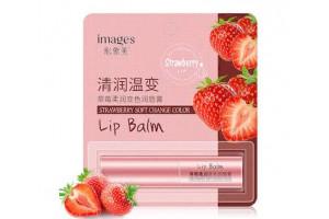"""IMAGES Strawberry Lip Balm цветной бальзам для губ """"Клубника"""""""