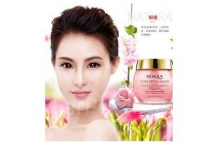 BioAqua Rose Petal Mask увлажняющая маска с экстрактом розы