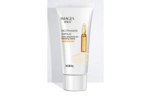 IMAGES Beauty Ampoule Cleancer пенка для умывания с никотинамидом,60гр