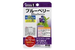 DAISO BLUEBERRY 1600 mg пищевая добавка  «ЧЕРНИКА»