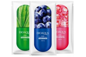 BioAqua Cherry Jelly Mask (8 гр) ночная маска с экстрактом вишни