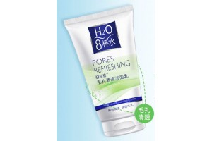 BioAqua H2O Pores Refreshing увлажняющая пенка для очищения пор