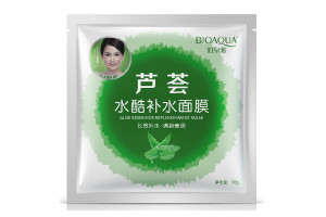 Bioaqua Aloe Replenishment Mask маска с экстрактом алоэ вера
