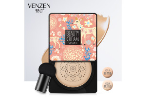 Venzen Beauty Cream Clear Cover крем-корректор в кушоне (15гр+запаска)