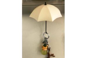 Декоративные крючки-зонтики самоклеящиеся (3 шт)