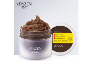 Venzen Brown Sugar Exfoliating Scrub сахарный скраб для лица
