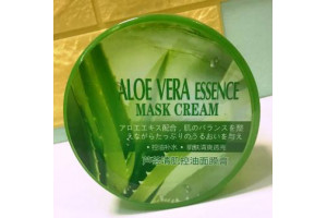 Miniso Aloe Vera Essence Mask Cream универсальный гель Алоэ (250 гр)