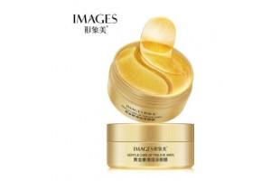 Images Gold Lady Series гидрогелевые патчи с Био-золотом (60 шт)