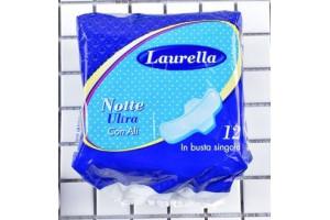 Гигиенические ночные прокладки Laurella Notte Ultra Con Ali (12 шт)