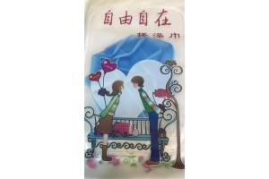 Jinliang двусторонняя отшелушивающая варежка-мочалка для душа