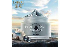 Laikou Black Pearl Mud Mask очищающая маска с вулканической грязью