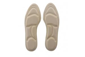 Мягкие ортопедические стельки с поддерживающими подушечками