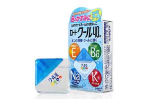 Освежающие капли для глаз Rohto Cool 40 (Япония)