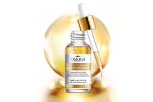 Dekrei Luxury Gold Caviar Essence эссенция с икрой и частицами золота