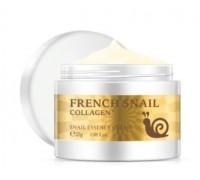 Laikou French Snail Collagen улиточный крем с коллагеном