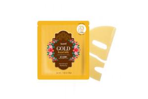Koelf Gold&Royal гидрогелевая маска с золотом и маточным молочком