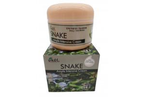 Ekel Ample Snake Intensive Cream крем для лица со змеиным ядом (100гр)