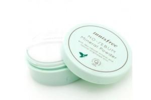 Innisfree No Sebum Mineral Powder минеральная пудра для жирной кожи