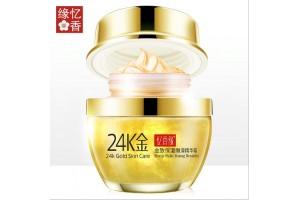 24K Gold Skin Care гель-крем против морщин с золотом и коллагеном