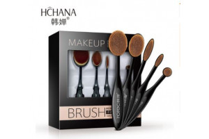 Hchana Make-Up Brushes набор инновационных кистей для макияжа (5шт)