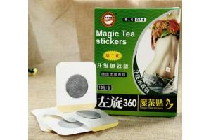 Magic Tea stickers пластыри на живот для похудения (10 шт)