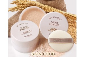 Skinfood Buckwheat Loose Powder рассыпчатая пудра с экстрактом гречихи