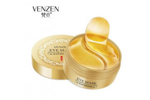 !!! Venzen Eye Mask гидрогелевые патчи под глаза с Био-золотом (60 шт)